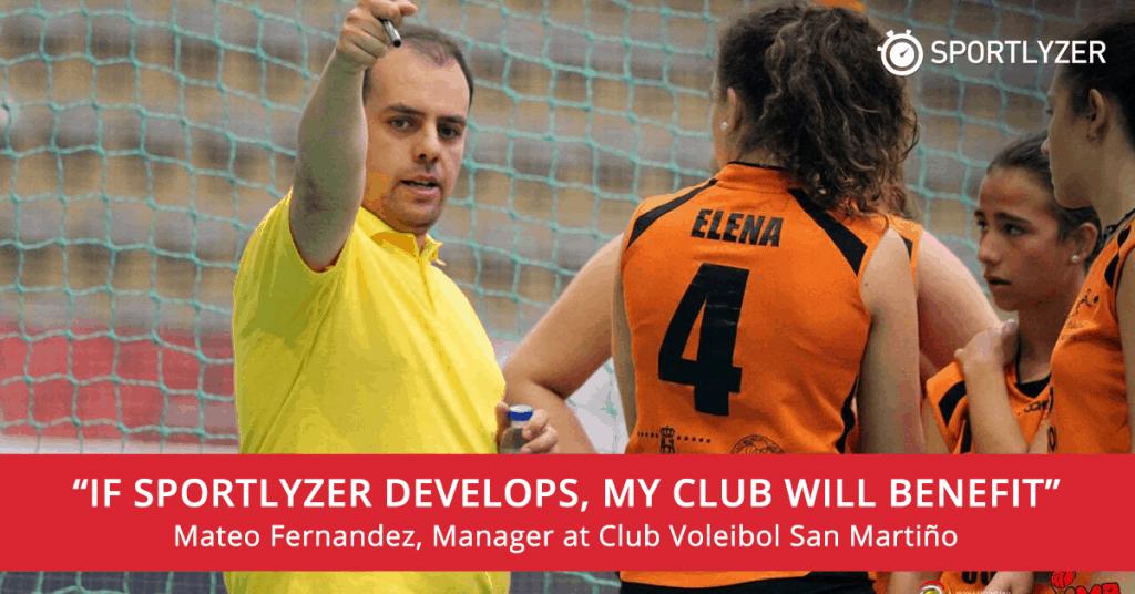 Mateo Fernandez about investing in Sportlyzer