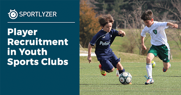 Player recruitment campaign in youth sports clubs