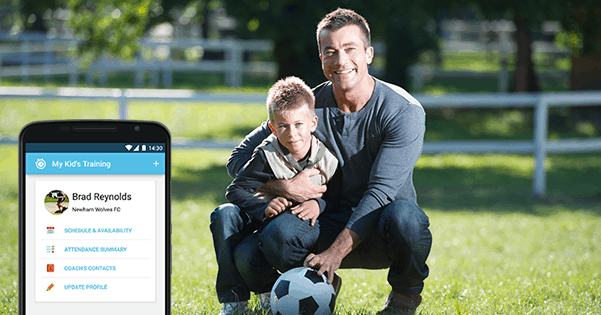 Why Ted (proud father of a young football player) is using Sportlyzer Parent App