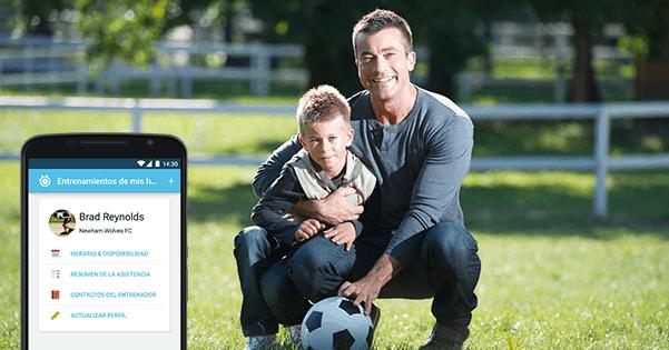 Por qué Pedro (padre de fútbol) está usando la App para Padres de Sportlyzer