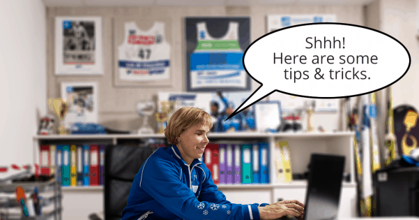Sportlyzer tips and tricks for coaches and club managers
