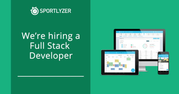 Sportlyzer is hiring a full stack developer