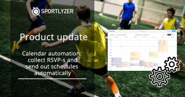 Sportlyzer Calendar automation - collect RSVP-s and send out schedules automatically