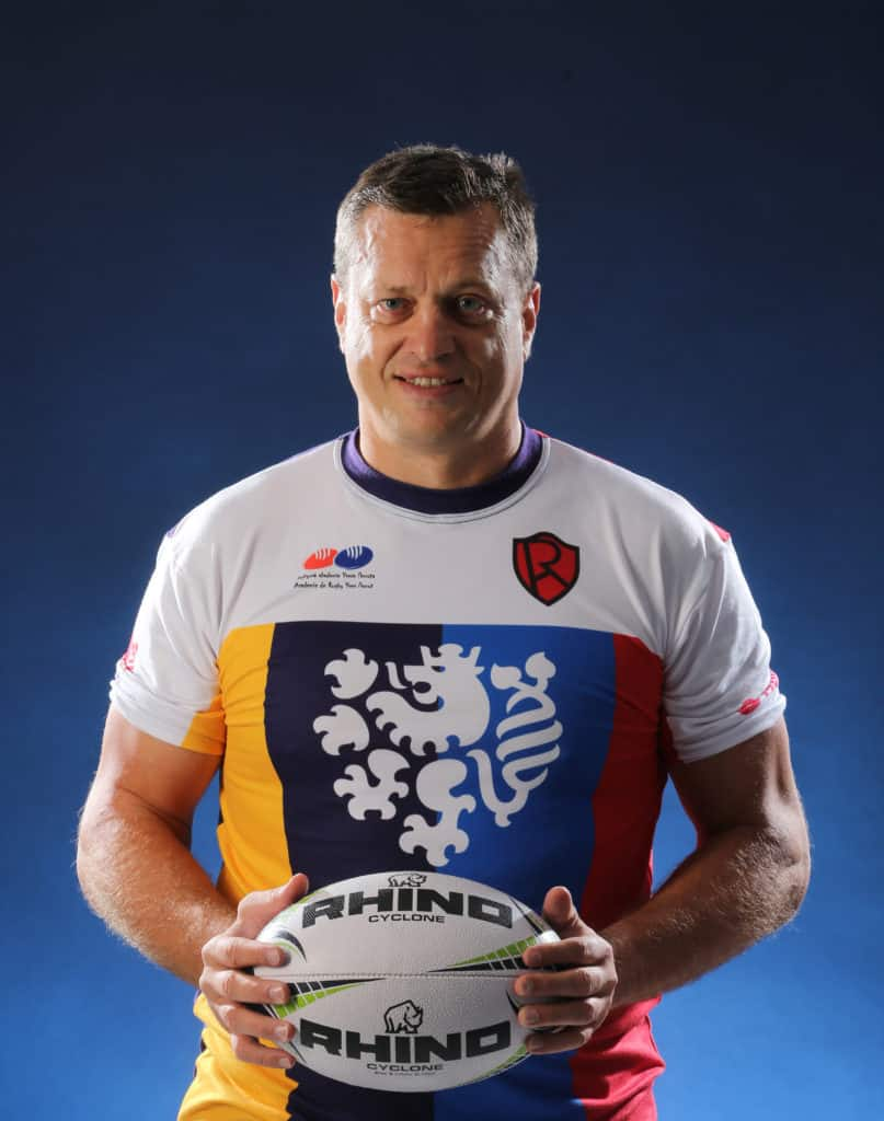 Jan Machacek - a coach who's goal is to make his players happy in his rugby club
