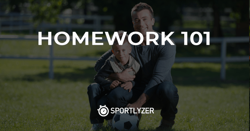 Homework 101 on Sportlyzer